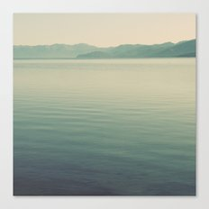 The Calm Canvas Print