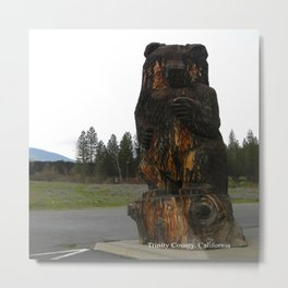 The magickal bear... Metal Print