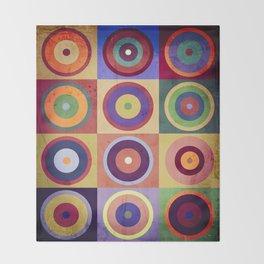 Kandinsky #38 Throw Blanket