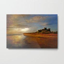 Bamburgh Castle Northumberland Metal Print
