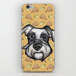 Peter loves pizza and cheese iPhone Skin