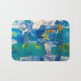 Morning bluesss Bath Mat