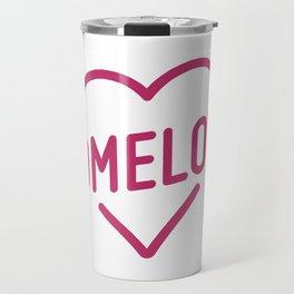 Pink Mome Love Travel Mug