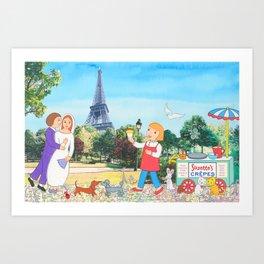 Suzette's Honeymooners Art Print