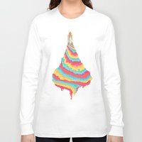 spaceship Long Sleeve T-shirts featuring Spaceship by Popsicle Illusion