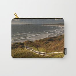 Rhossili bay south Wales Carry-All Pouch