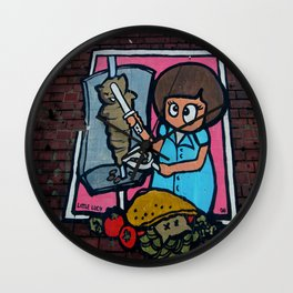 Little Lucy Wall Clock