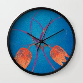 Graceful,endangered desire Wall Clock