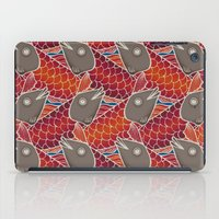 pisces iPad Cases featuring PISCES by Wagner Campelo