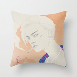I Defy You Stars Throw Pillow