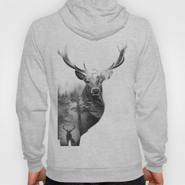Deer in the woods Hoody