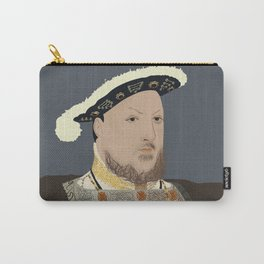 Henry VIII of England Carry-All Pouch