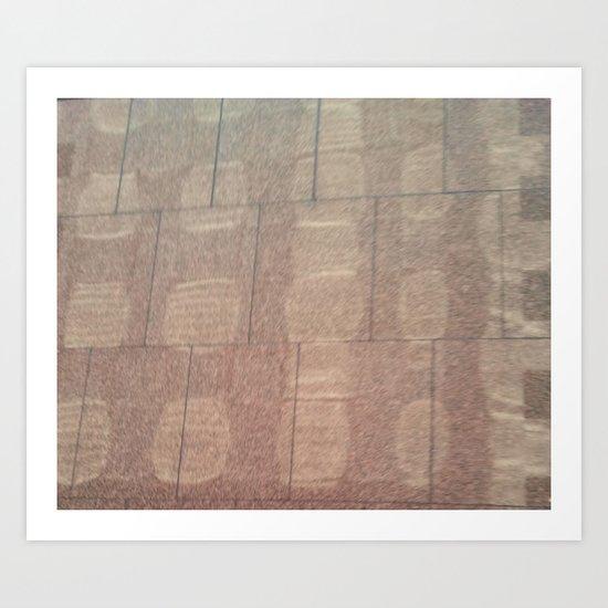 MARBLE GLARE 2 Art Print