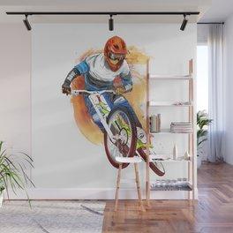 cyclist Wall Mural
