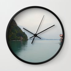Smooth Waters Wall Clock