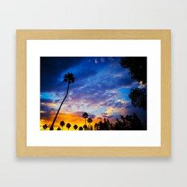 California sunset ii Framed Art Print