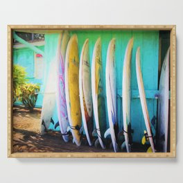 surfboards Serving Tray