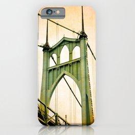 ST. JOHNS BRIDGE - PORTLAND iPhone Case