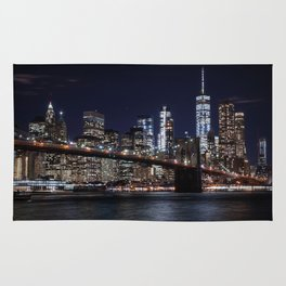 The Lights of New York City Rug