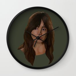 Skye / Daisy Johnson / Quake Wall Clock