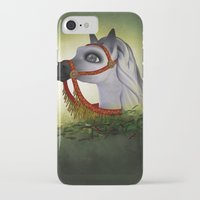 carousel iPhone & iPod Cases featuring Carousel by Texnotropio