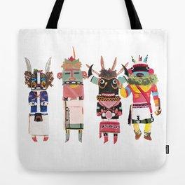 Kachinas Tote Bag