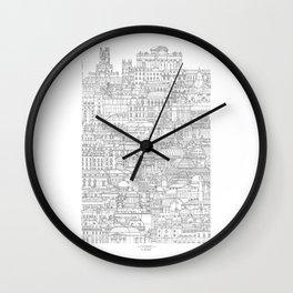 El retiro (Madrid, Spain) Wall Clock