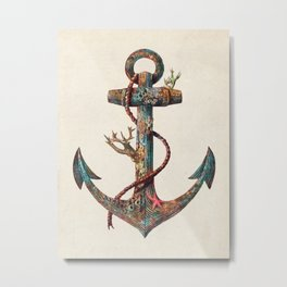 Lost at Sea - colour option Metal Print