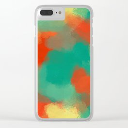Tropicool Clear iPhone Case