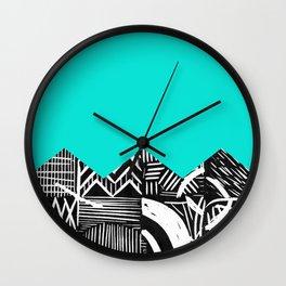 Sky lino bright Wall Clock