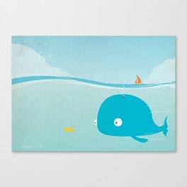 Copain !! Canvas Print