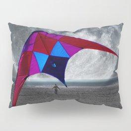 Night Kite Flight Pillow Sham