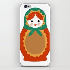 Matrioska-002 iPhone & iPod Skin