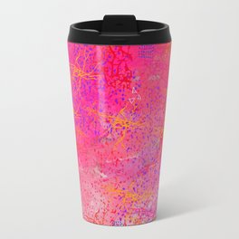 A state of calm pink Travel Mug