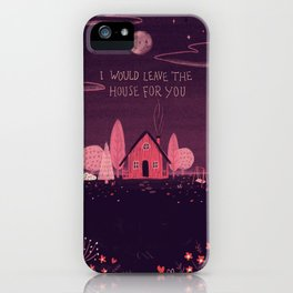 Introvert Love iPhone Case