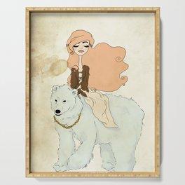 White-Bear-King-Valemon Serving Tray