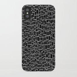 Black & White 9 iPhone Case
