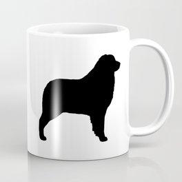 Australian Shepherd Dog Silhouette Coffee Mug