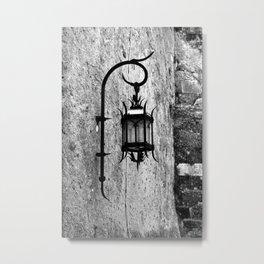 Medieval Lamp Metal Print
