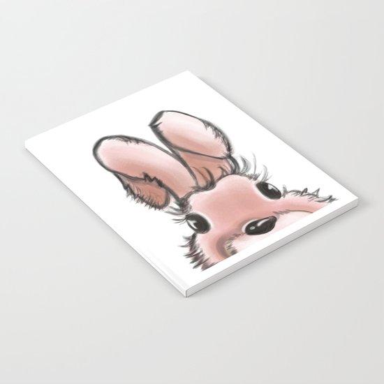 Pink rabbit Notebook