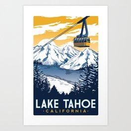 lake tahoe california Art Print