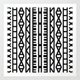 High Fashion Pattern No.2 Art Print