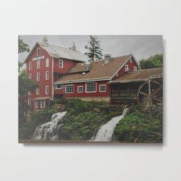 Clifton Mill Metal Print
