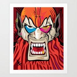 xBeastManx Art Print