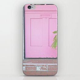 Pink Door iPhone Skin