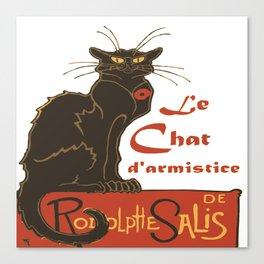 Tournee du Chat Noir D'Armistice Tribute Vector Canvas Print