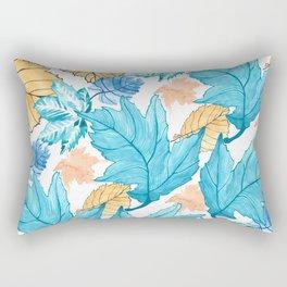 Leaf pattern 2 Rectangular Pillow