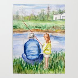 Fishing Memories Poster