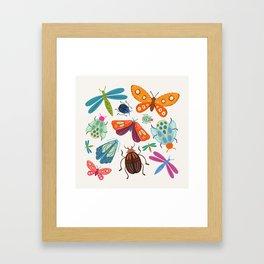 Bug Collective Framed Art Print