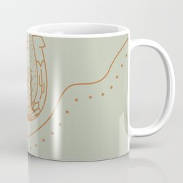 Good Fortune Gal - Desert Sage Coffee Mug